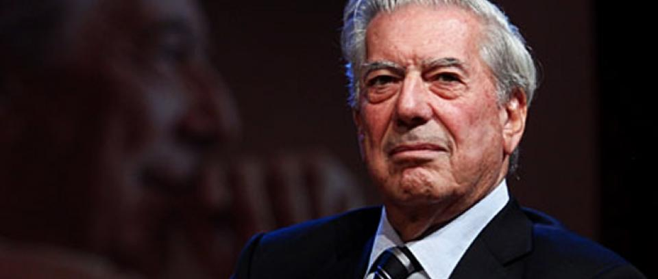Vargas Llosa en el Hay Festival