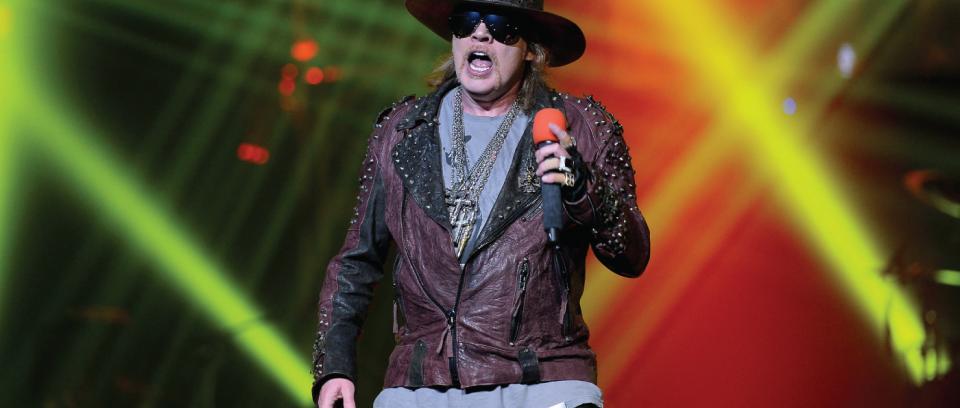 Confirmado, Axl Rose es el nuevo vocalista de AC/DC