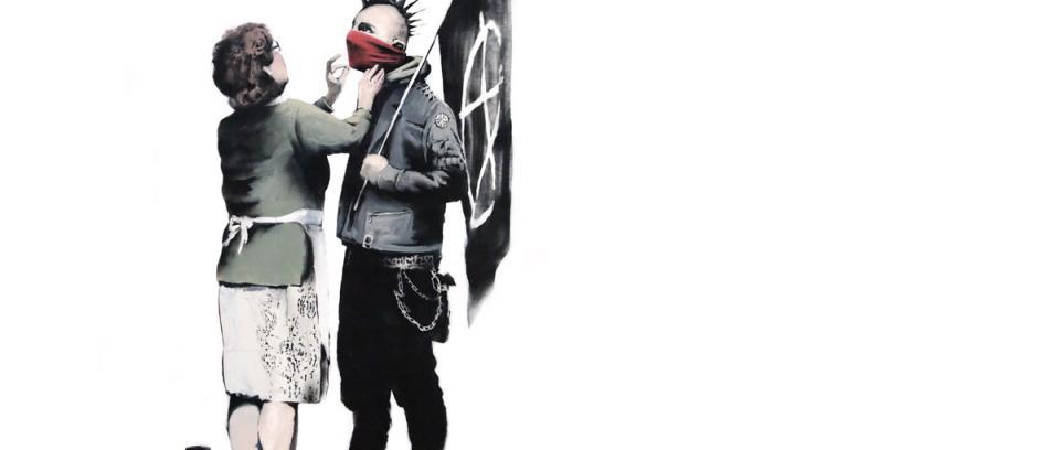 Goldie revela por accidente el nombre de Banksy