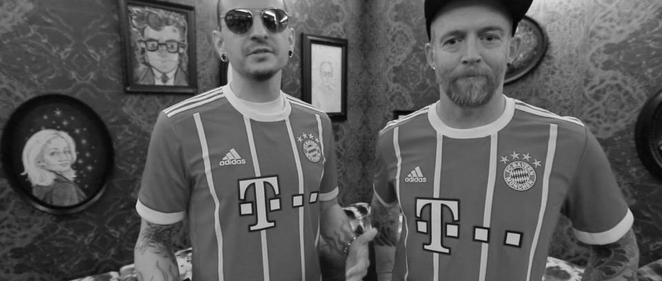 El Bayern Munich de luto por Chester Bennington