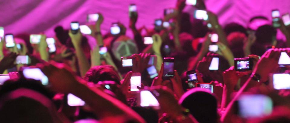 Apple no quiere que grabemos conciertos