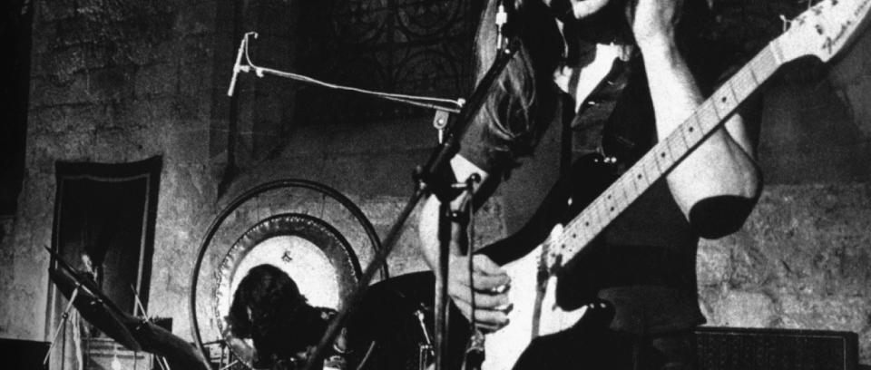 45 años después, David Gilmour regresará a Pompeya