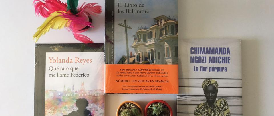 En vitrina: recomendaciones literarias (agosto)