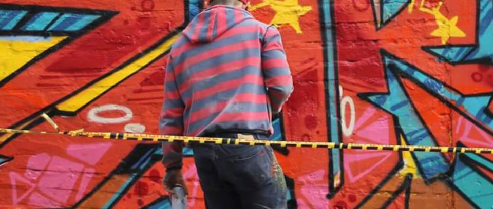 Tour Policromía: festivales de gráfica urbana en el Eje cafetero y Cali