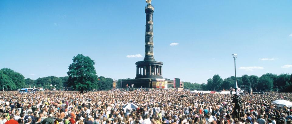Love Parade en Berlín.