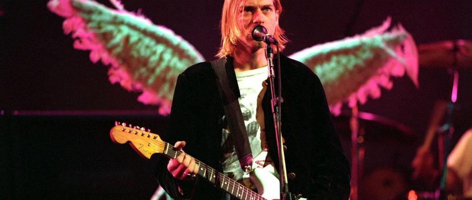 Conozcan al amigo imaginario de Kurt Cobain