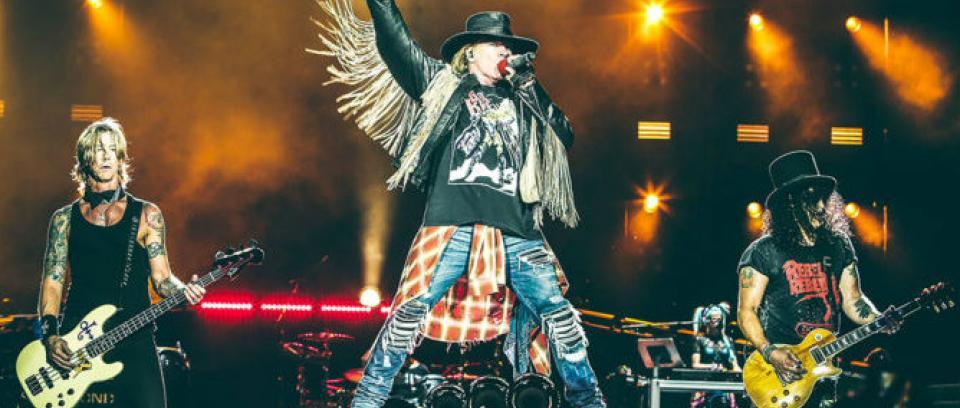 ¿Cuál es su álbum favorito de Guns N' Roses?