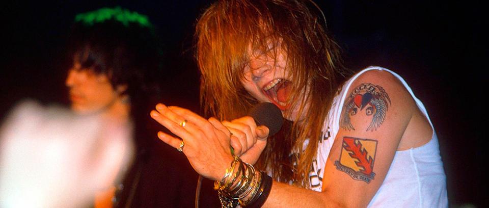 [Galería] Así se veían los Guns N Roses cuando lanzaron Appetite For Destruction