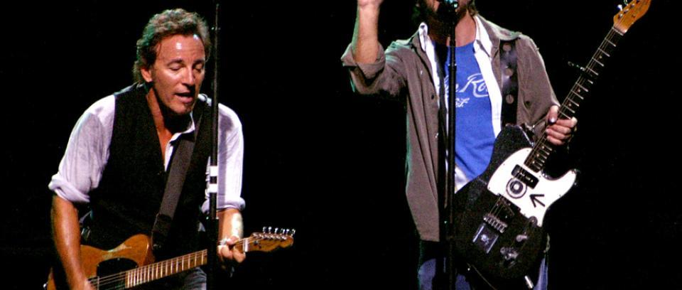 El día en que Eddie Vedder cantó 'Better Man' con Bruce Springsteen