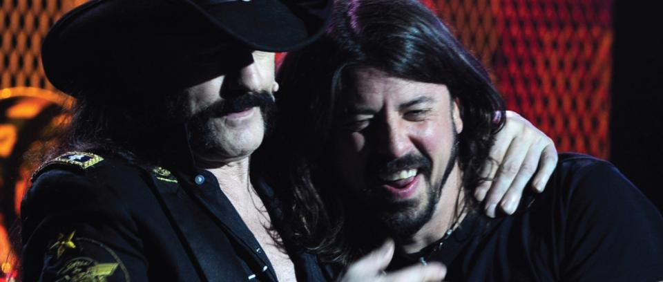Dave Grohl rinde tributo a Lemmy Kilmister junto a integrantes de Metallica, Slayer y Pantera