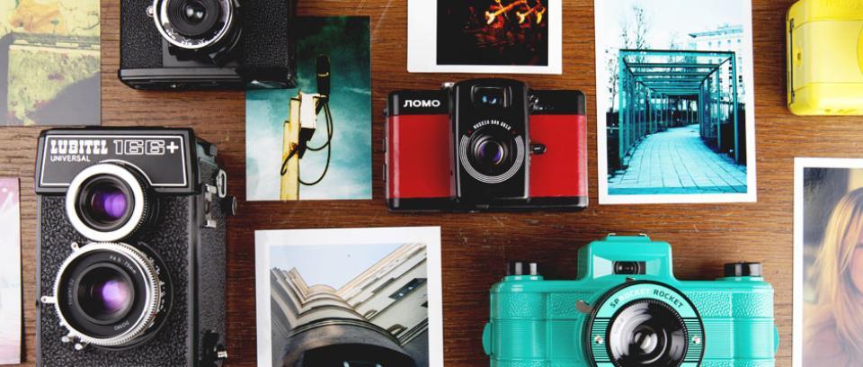 Lomografía: Al rescate de la fotografía análoga