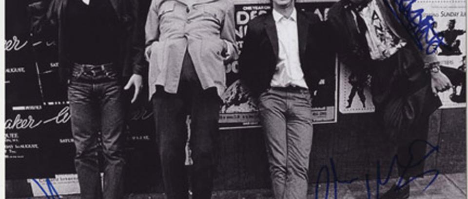 Así fue la reunión de dos miembros de Sex Pistols
