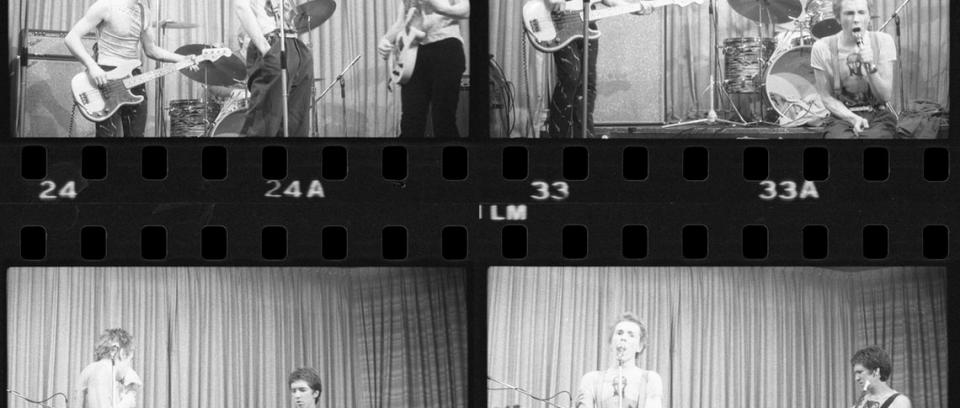 Salen a la luz las primeras fotos de los Sex Pistols