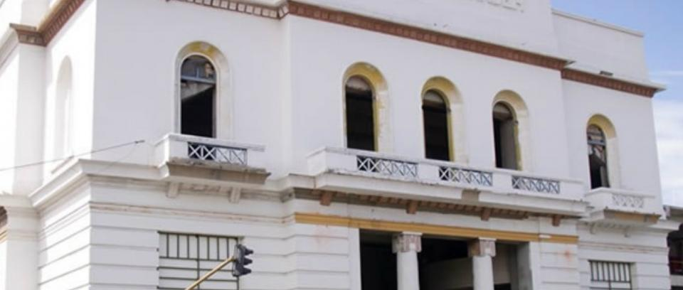Al imponente Teatro Santander de la ciudad de Bucaramanga le falta poco para volver a nacer