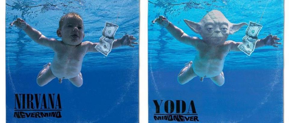 Si grandes carátulas de la música fueran hechas con personajes de Star Wars